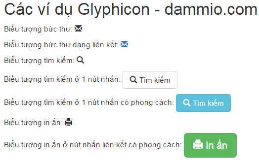 glyphicon
